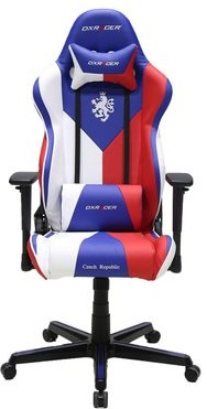 židle DXRACER OH/RZ57/IWR Czech Republic Edition gallery main image