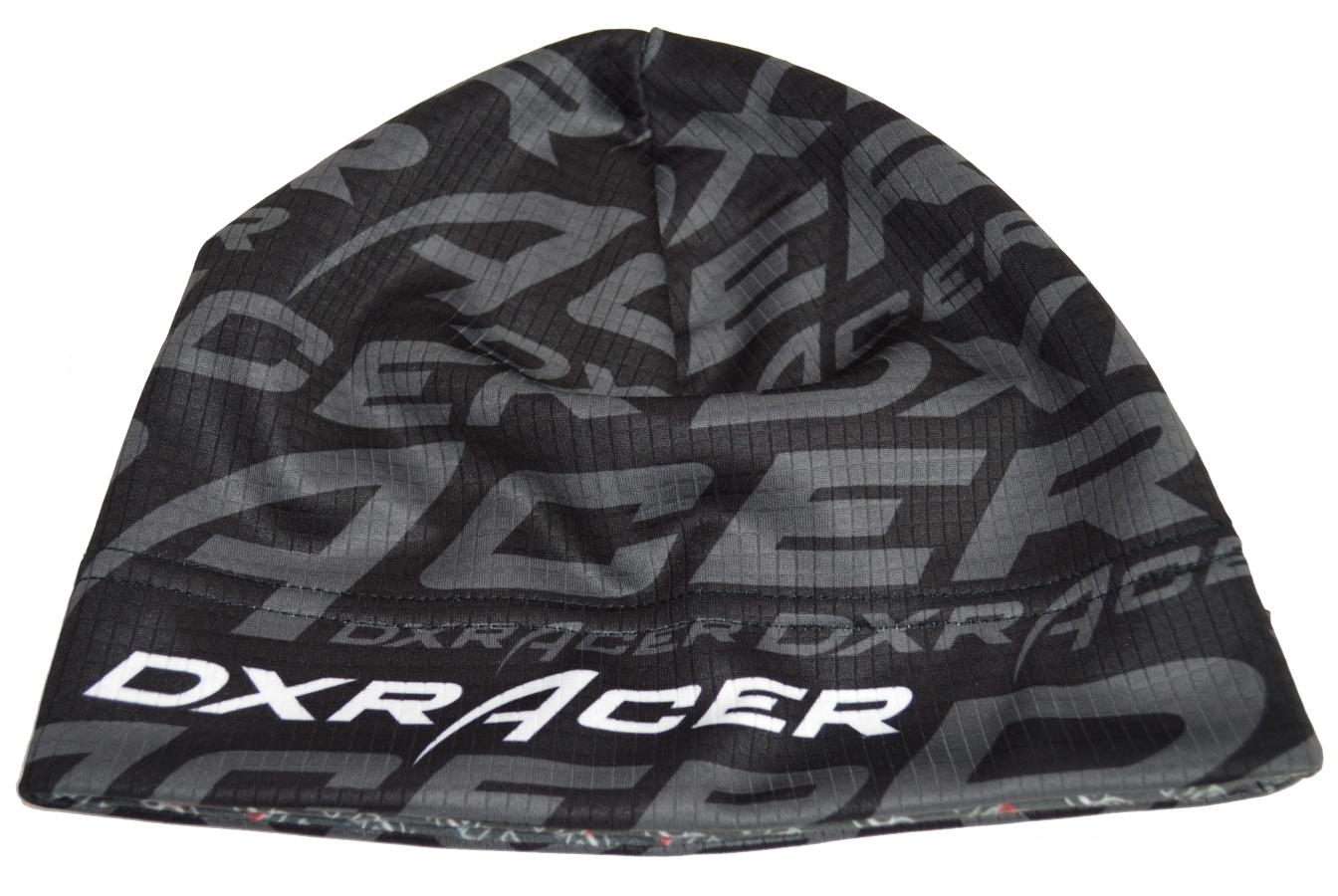 Levně funkční čepice DXRACER vel. XL, černá / šedá